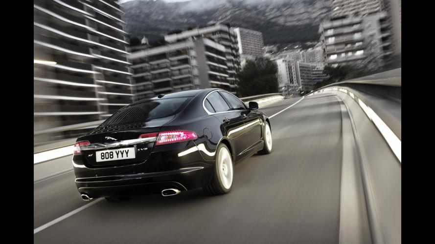 Jaguar XF, presto con il Diesel 4 cilindri