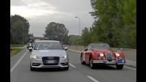 La nuova Audi A3 al seguito del Gran Premio Nuvolari 2012