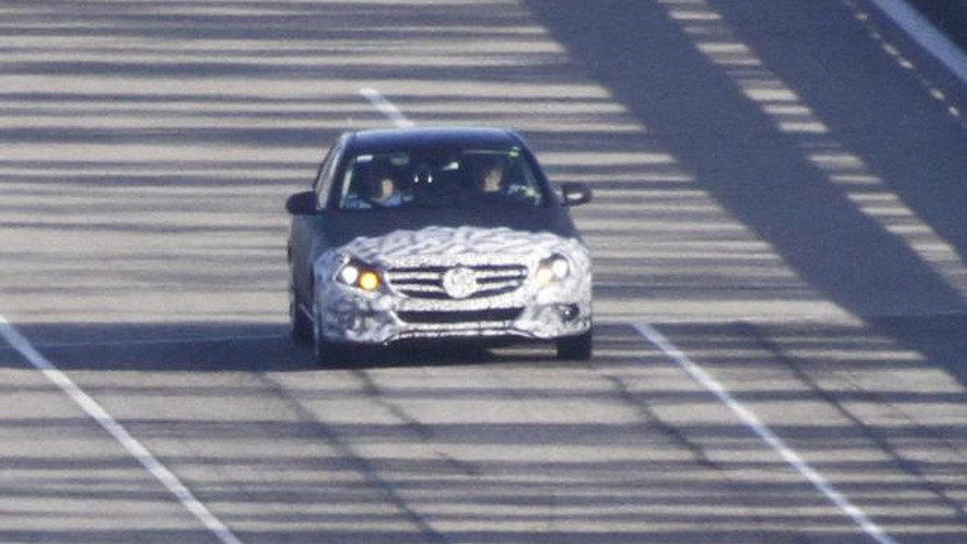 2014 Mercedes-Benz C-Class spied again