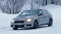 BMW Série 1 sur la neige