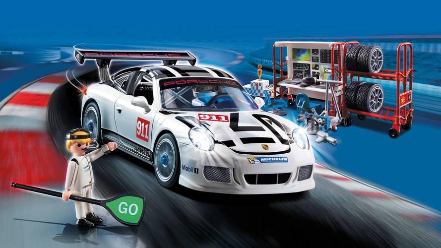 Así es tu primer Porsche 911 GT3 Cup... de Playmobil