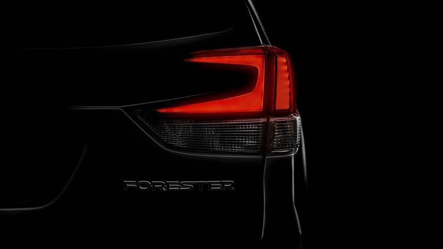 Novo Subaru Forester 2019 será mostrado no próximo dia 28