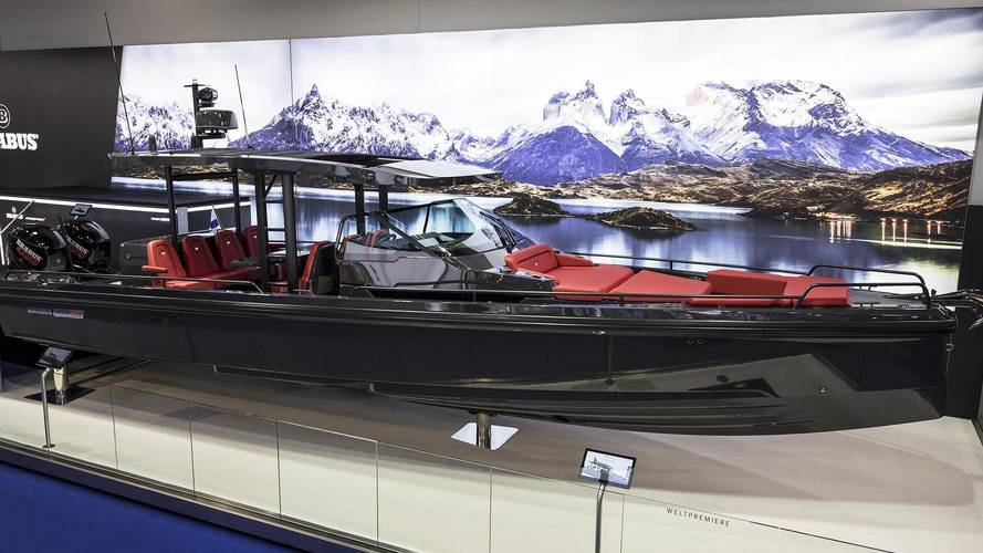 Brabus Shadow 800 Arrives As A $495,000 Hand-Built Motorboat