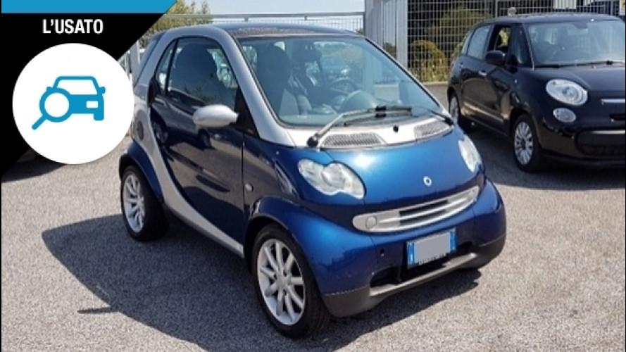 Smart fortwo, i prezzi dell'usato sono mini come l'auto
