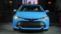 2019 Toyota Corolla Hatchback Live Photos