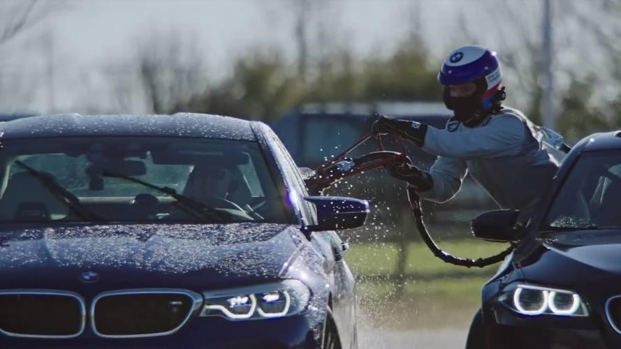 VIDÉO - La BMW M5 drifte pendant 8 heures, record du monde battu !