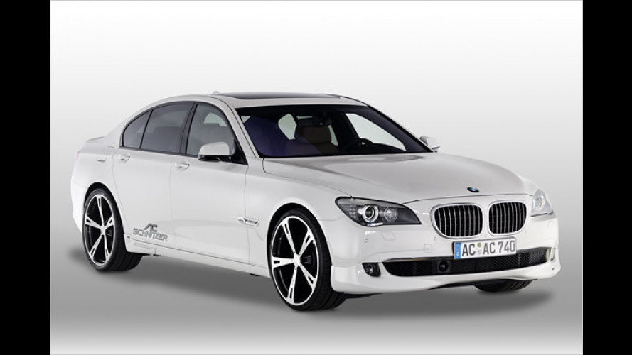 BMW 7er im sportlichen Trimm von AC Schnitzer