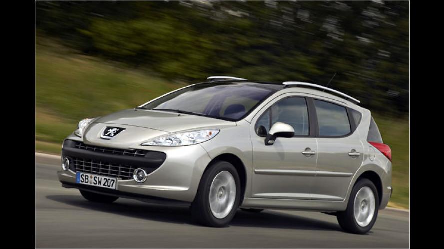 Peugeot 207 SW: Sondermodell Urban Move kommt