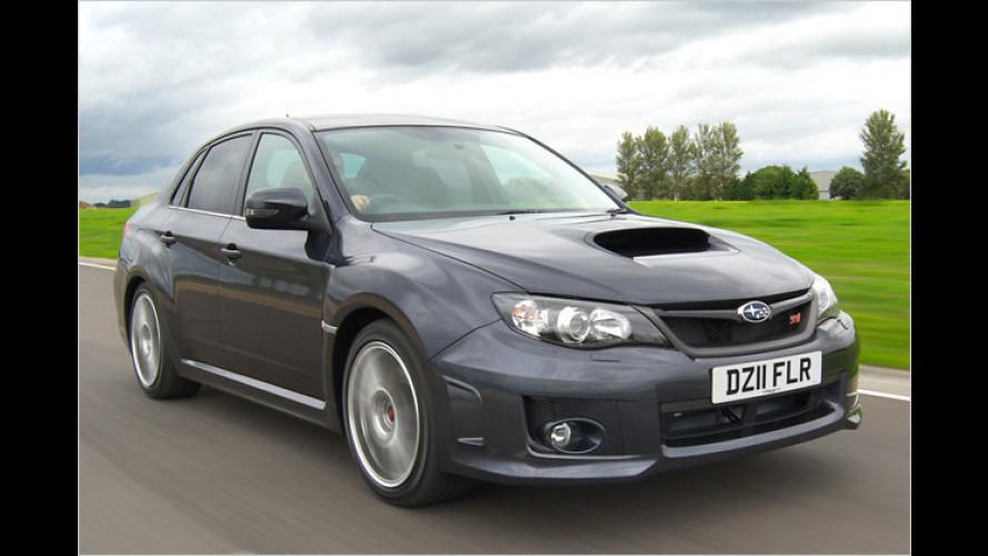 Subaru WRX STI: Ballerbonsai noch stärker
