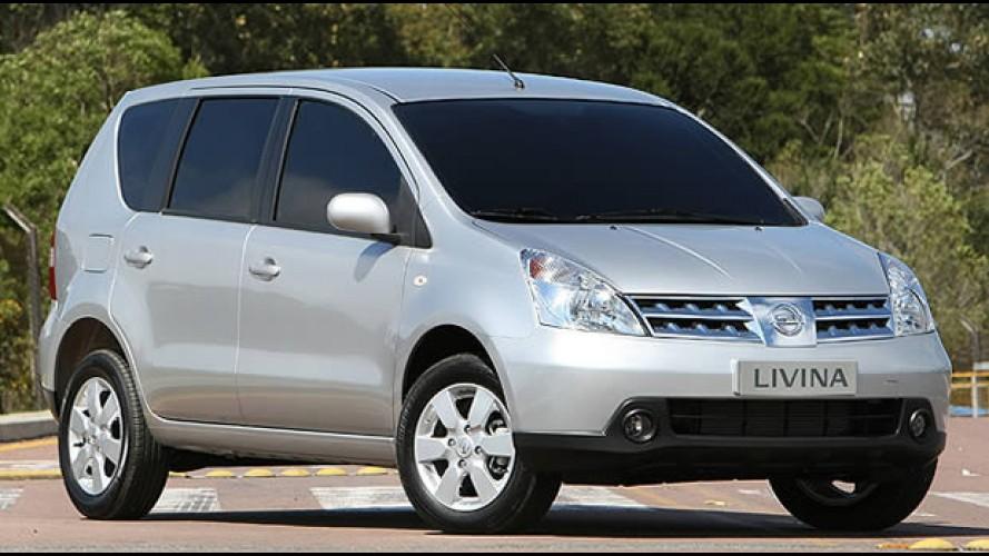 Nissan Livina tem desconto de R$ 3.700 - Preço promocional do monovolume é R$ 42.990