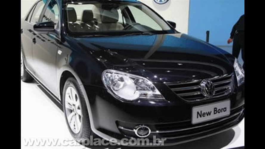 Novo Bora 2009 - Nova versão do sedan começa a ser vendida na China