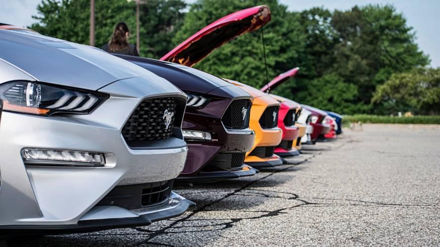 10 Milioni di Ford Mustang