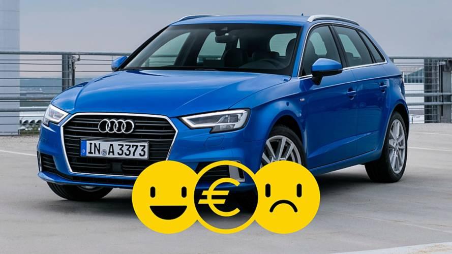 Promozione Audi A3 Sportback, perché conviene e perché no