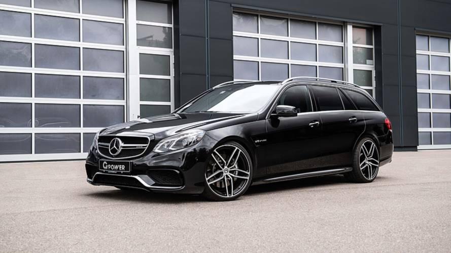 La Mercedes-AMG E 63 Estate poussée à 845 ch par G-Power !