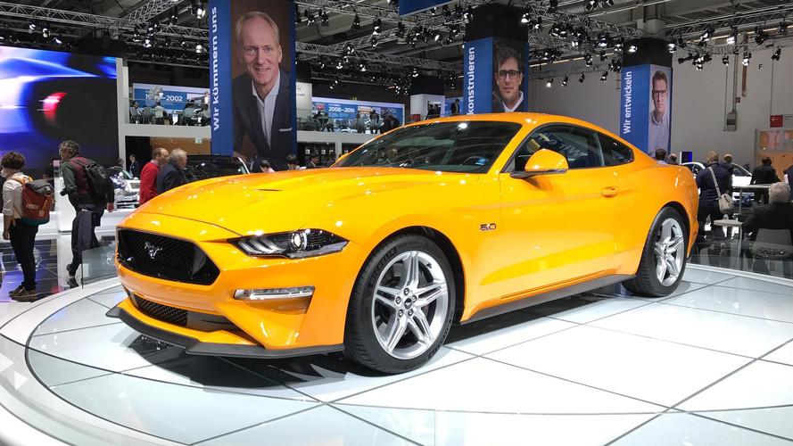La Ford Mustang restylée en images au Salon de Francfort