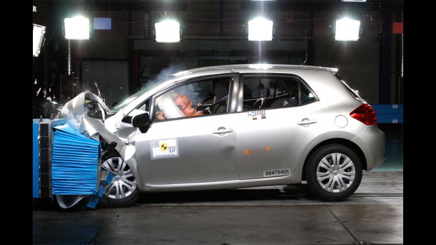 La Toyota Auris conquista 5 stelle EuroNCAP