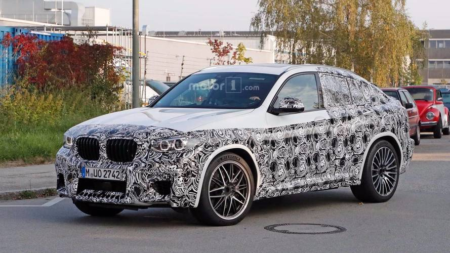 Fotos del BMW X4 M 2019... con camuflaje