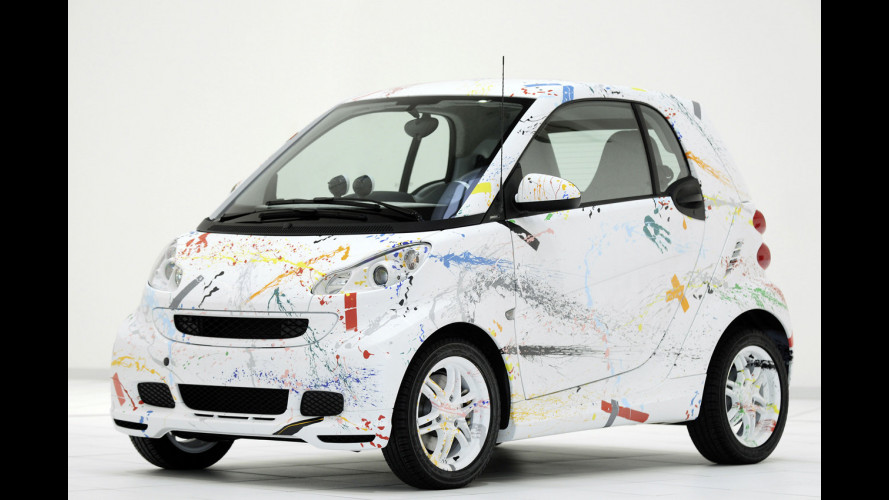 smart fortwo sprinkle