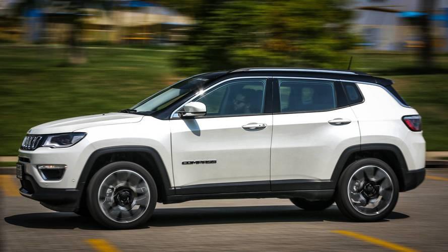 Jeep Compass fica até R$ 2 mil mais caro; veja tabela de preços