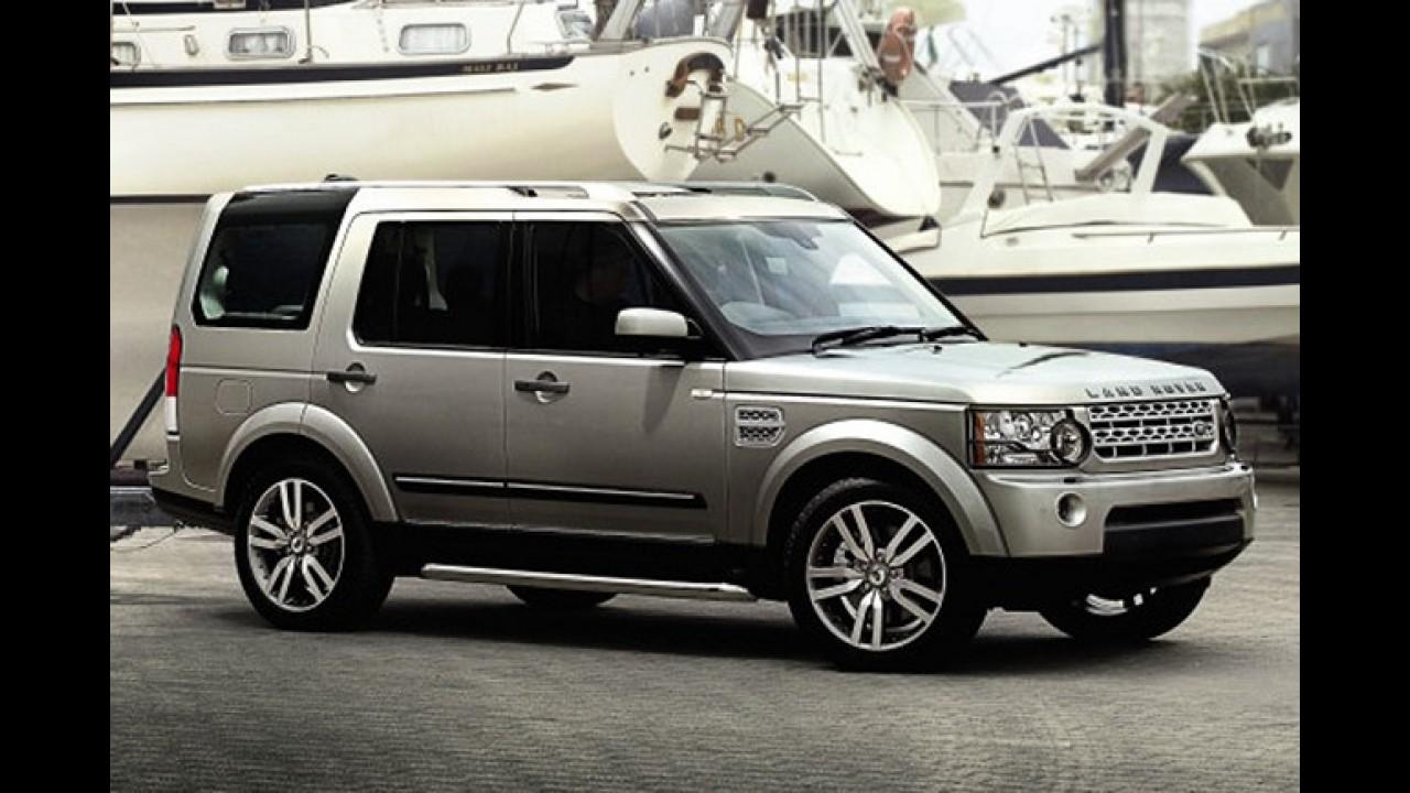 Land Rover Discovery 4 e Range Rover Sport recebem alterações na linha 2012