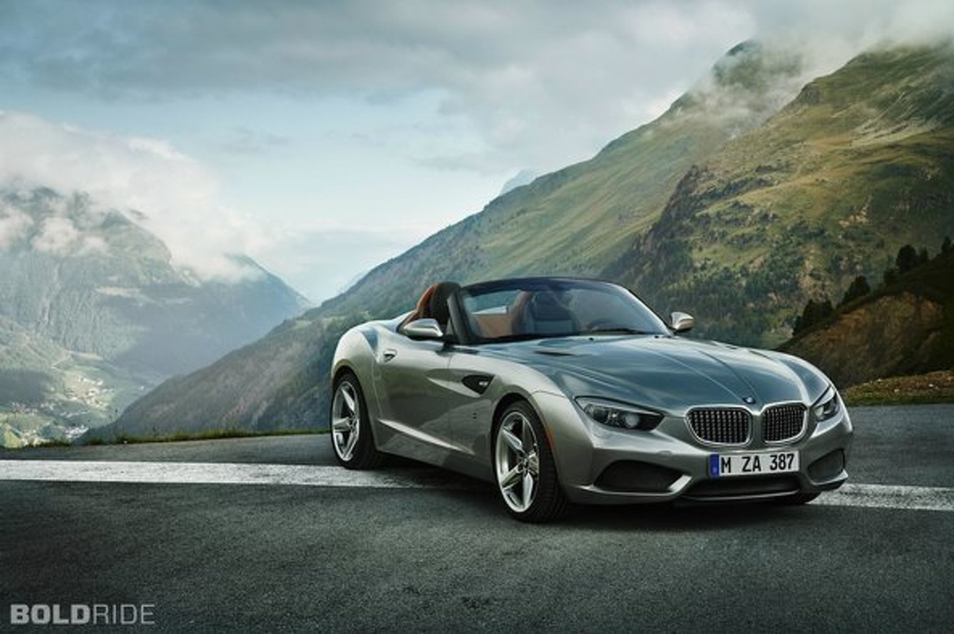 BMW Zagato Roadster: The Coupe Goes Topless at Pebble Beach