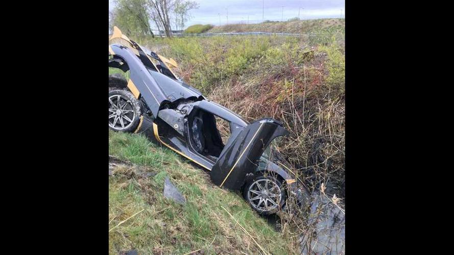Koenigsegg Agera RS Crashes During Testing, Driver Hospitalized