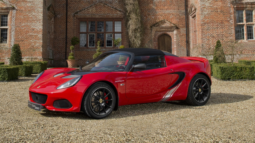 Lightweight Lotus Elise Sprint dips under 800kg