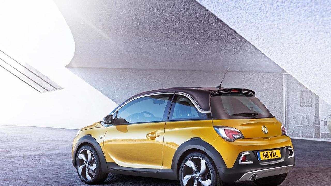 Opel Adam Rocks production version