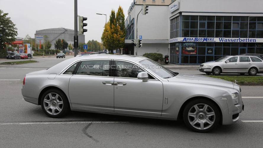 Rolls-Royce Ghost facelift spied in Munich