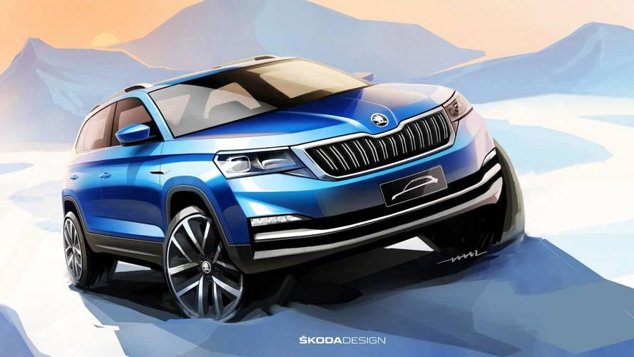 Skoda, Pekin'de tanıtacağı ufak SUV modelini gösterdi
