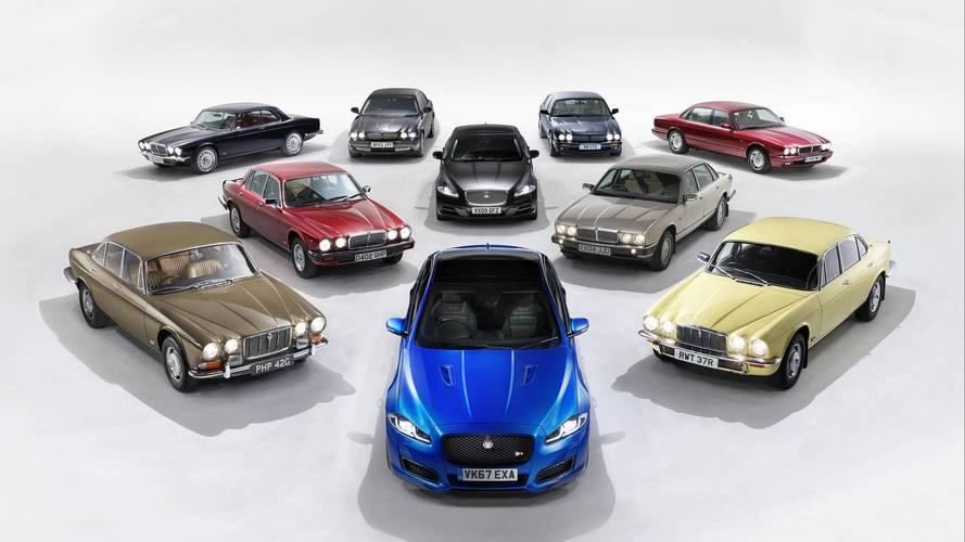 Jaguar célèbre les 50 ans de la XJ avec la nouvelle XJ50