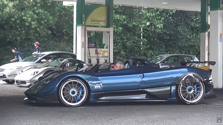 See This Pagani Convoy Led By Horacio Himself In His HP Barchetta