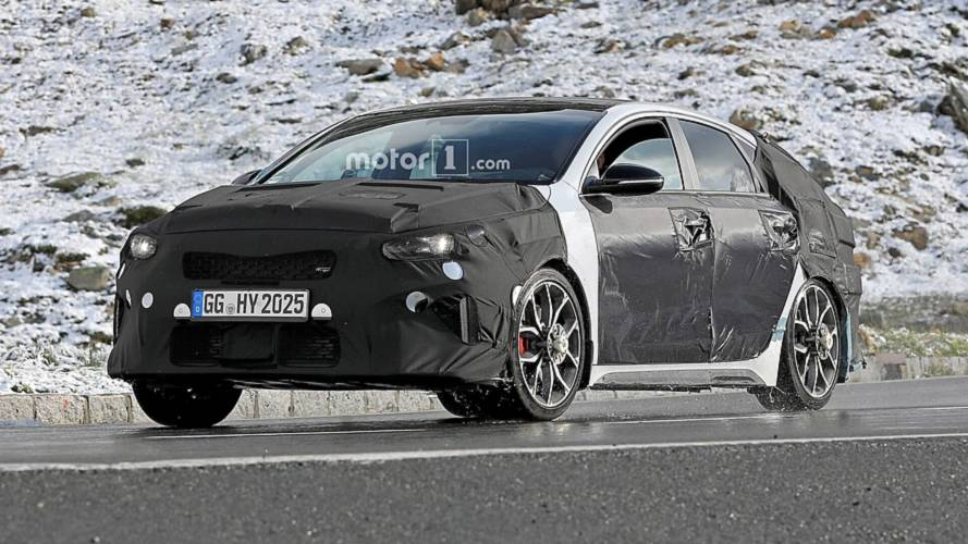 Kia Proceed GT makes spy photo debut flaunting fat exhaust tips