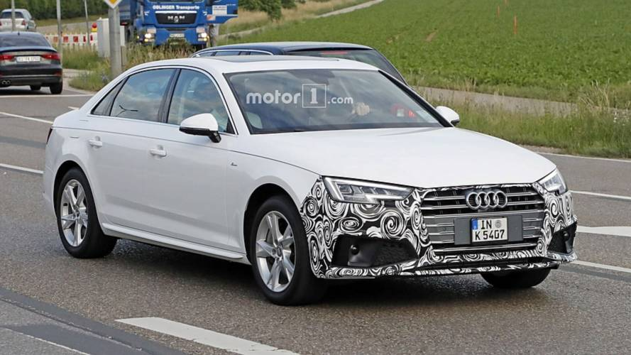 2019 Audi A4 Sedan hafif kamuflaj ile görüntülendi
