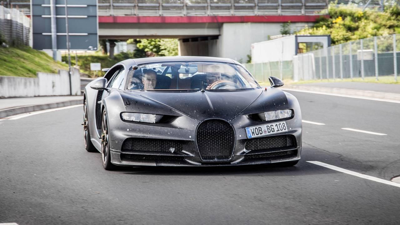 Bugatti Chiron Test Car
