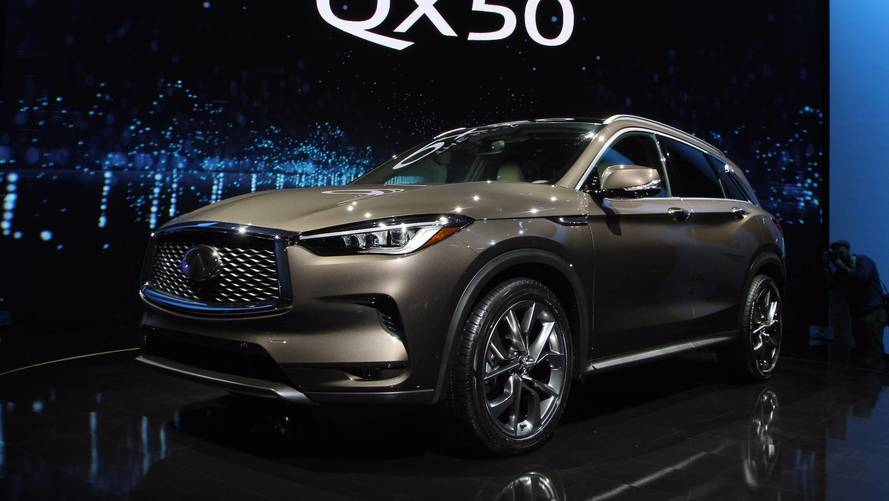 2019 Infiniti QX50 Debuts With A Sculpted Design, VC-Turbo Engine