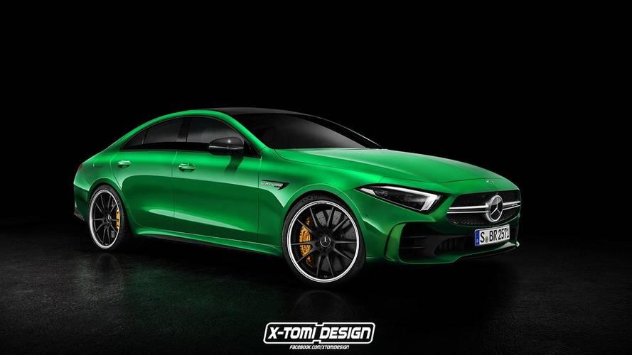 Cuatro renders del Mercedes-Benz CLS 2019