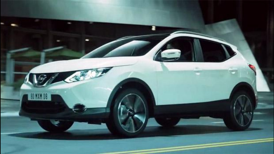 Nuovo Nissan Qashqai arriva in Italia [VIDEO]