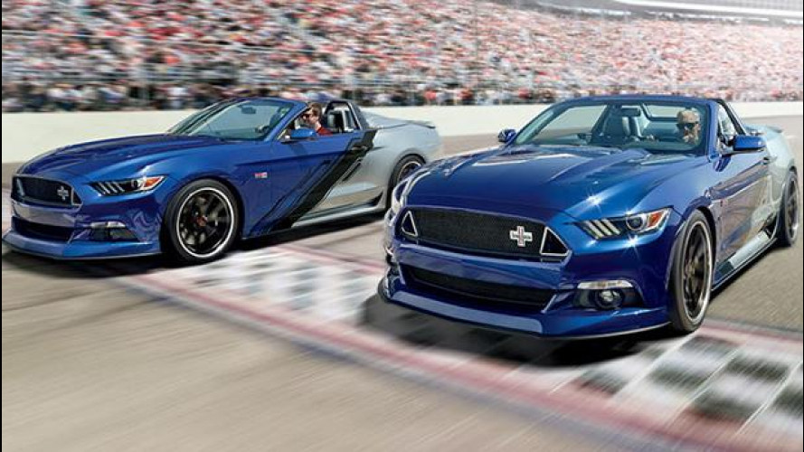 Ford Mustang Convertible Neiman Marcus Limited-Edition, Natale coi fiocchi [VIDEO]
