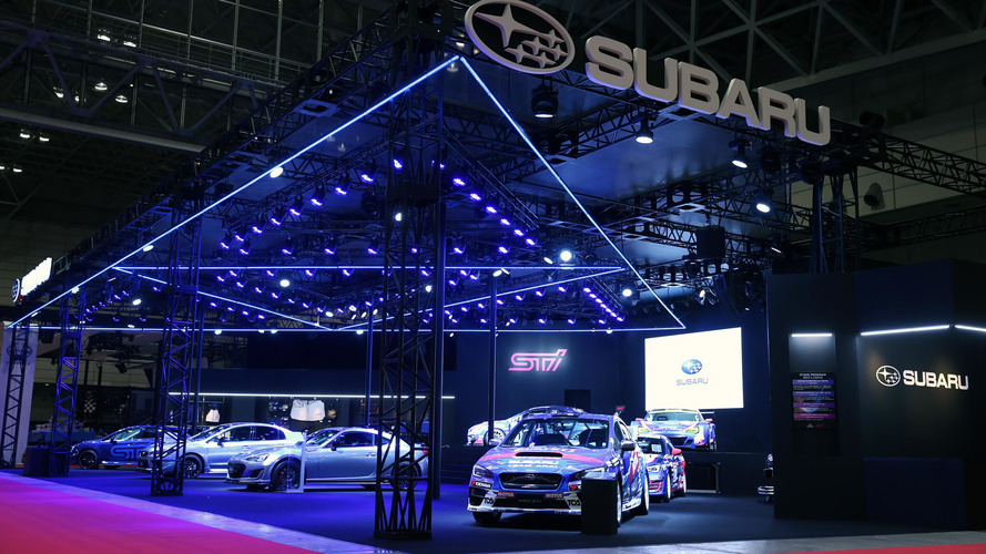 Subaru, 2017 Tokyo Otomobil Fuarı'na STi ordusu ile çıktı