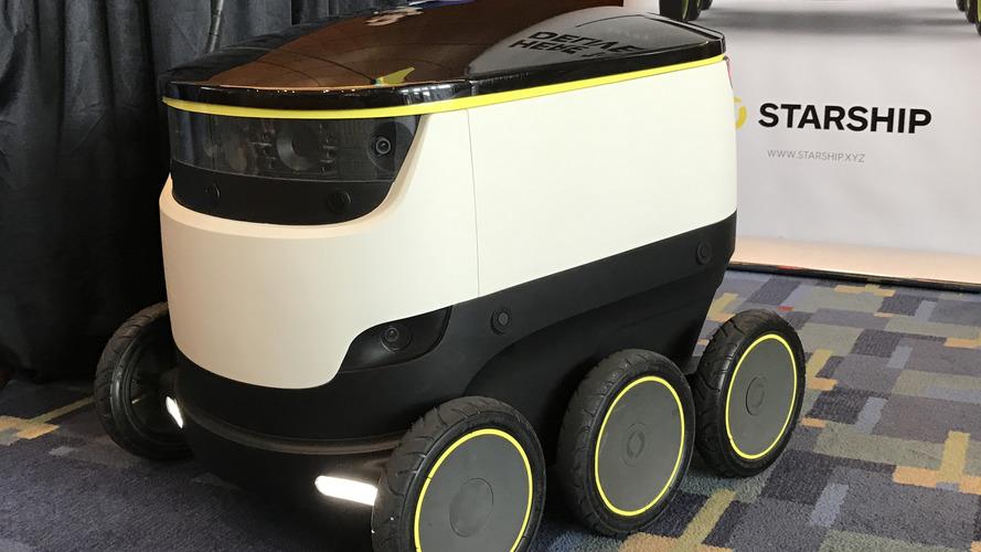 Skype'ın kurucularının geliştirdiği robotlar Washington sokaklarında!