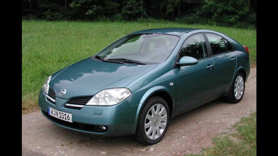 Nissan Primera und X-Trail mit zusätzlichem Kaufanreiz