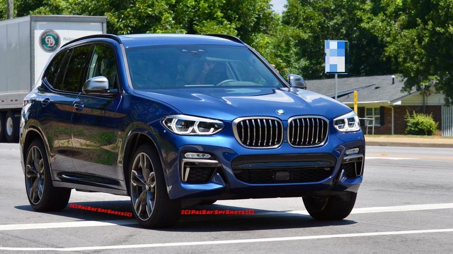 Photos espion - Les premières images de la nouvelle BMW X3 M40i !
