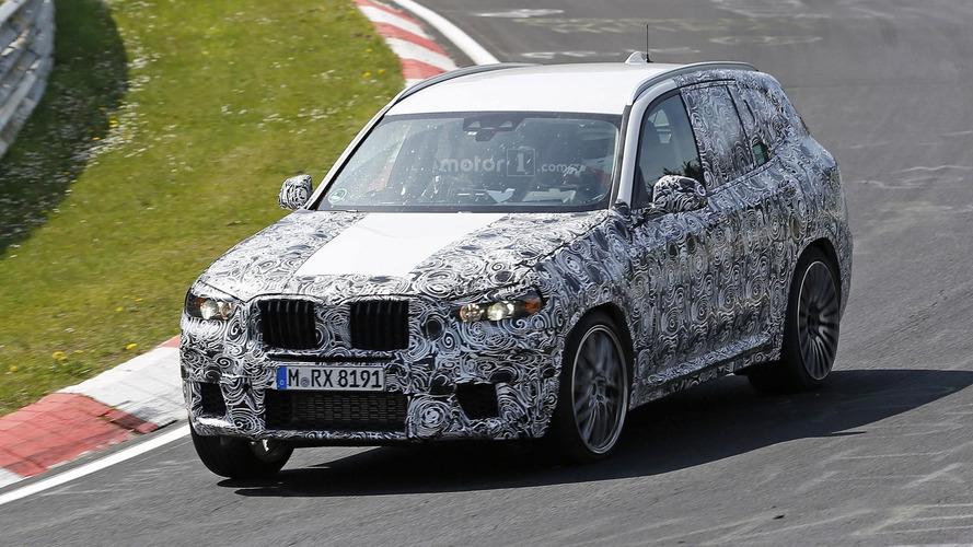 2018 BMW X3 M hits the Nurburgring for intense tests
