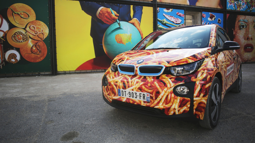 BMW i3 Spaghetti Car