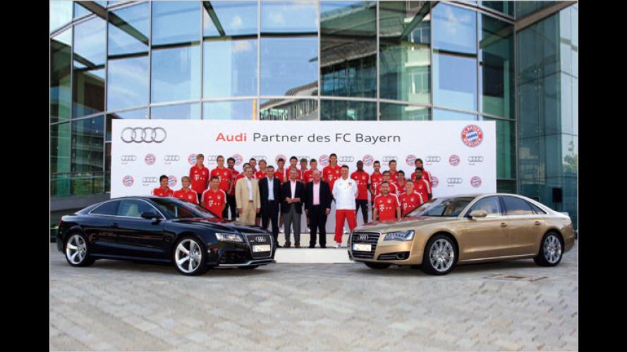 FC Bayern: Die Kicker-Stars fahren mit Audi ab