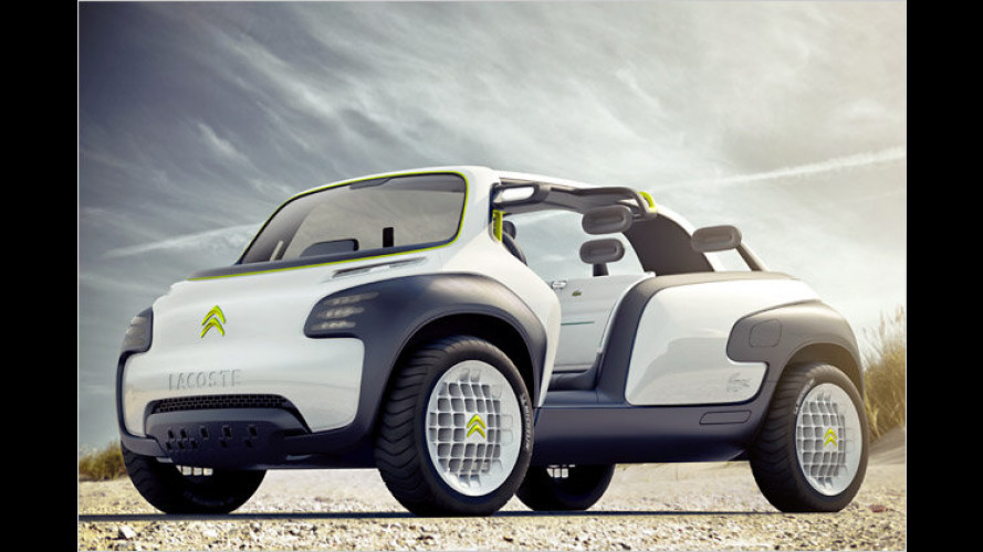 Citroën Lacoste: Concept Car im Buggy-Look steht in Paris
