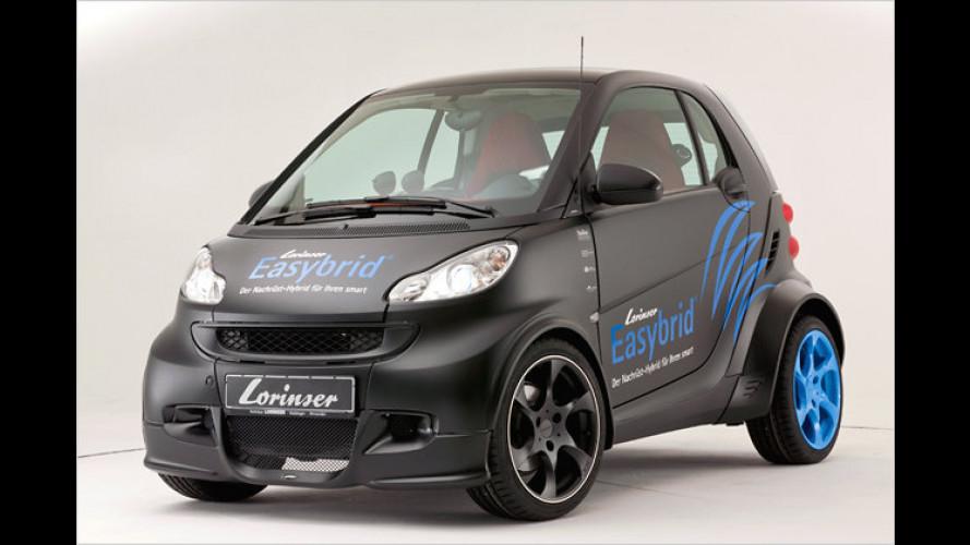 Nachrüst-Plug-in-Hybrid für Kleinwagen