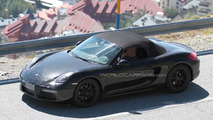 2016 Porsche Boxster facelift spy photo