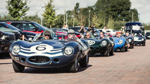 Jaguar D-Type Le Mans Victory Celebration